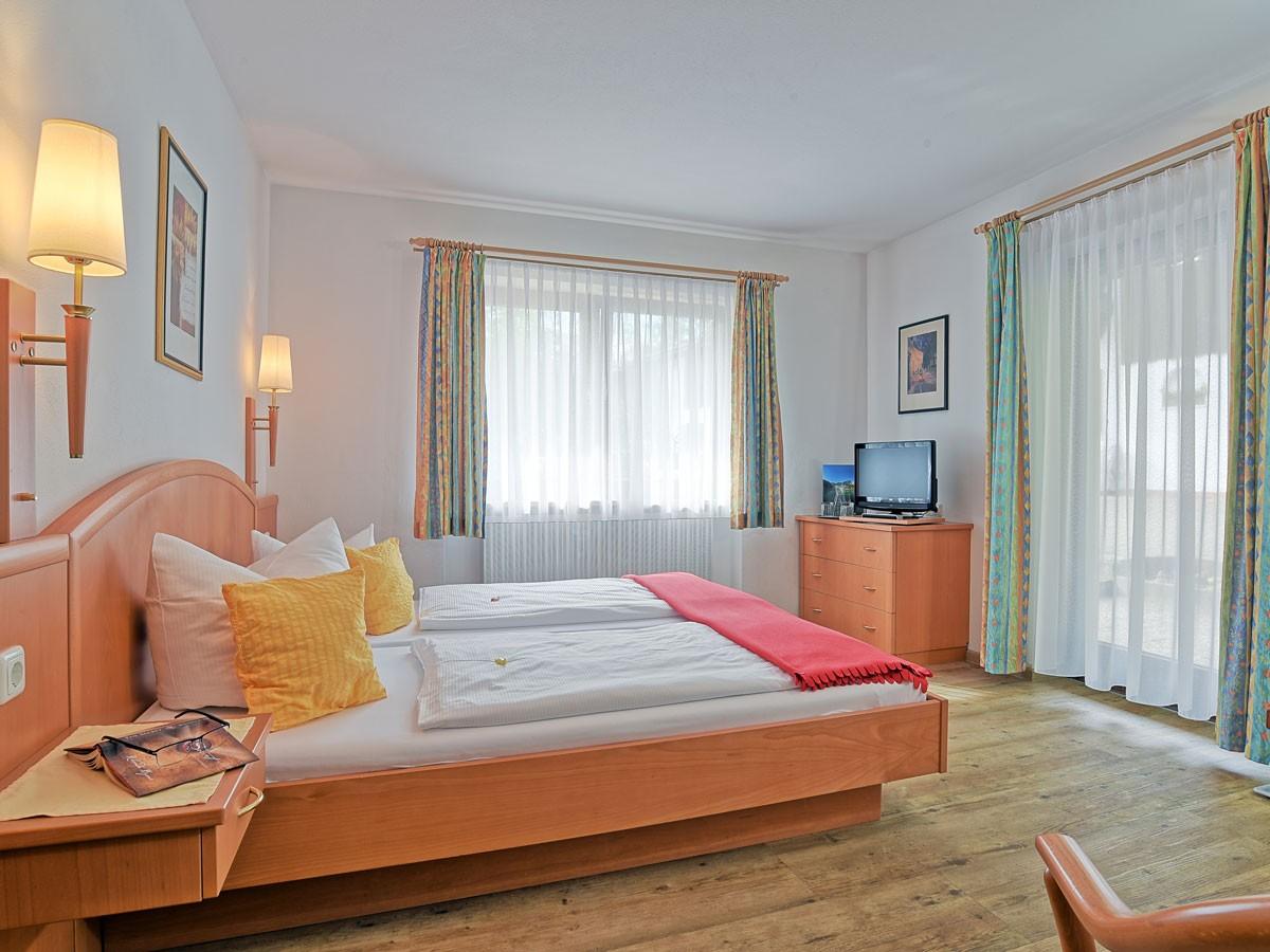 Komfort Doppelzimmer mit Terrasse