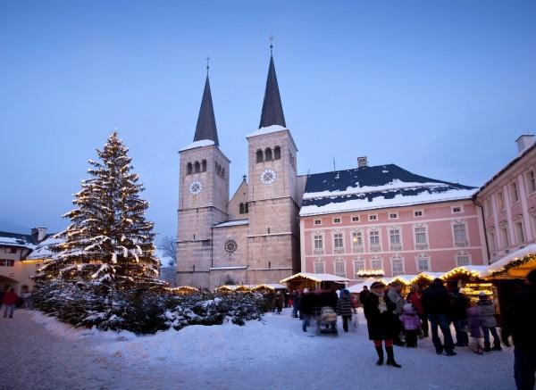 Schlossplatz Berchtesgaden